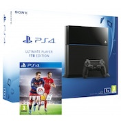 PlayStation 4 (1TB) Black Console + FIFA 16