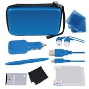 Crown 12 in 1 Deluxe Accessory Pack Light Blue 3DS XL