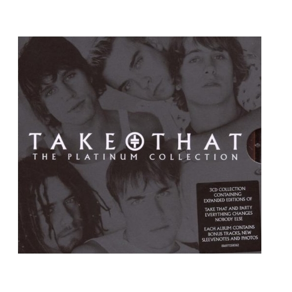 Take That - The Platinum Collection Box Set 3CD