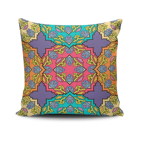NKLF-378 Multicolor Cushion Cover