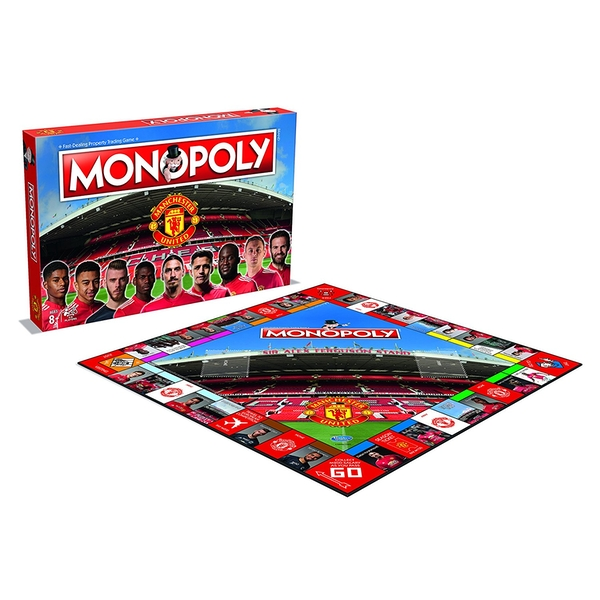 Manchester Utd F.C 17/18 Football Club Monopoly - Image 2