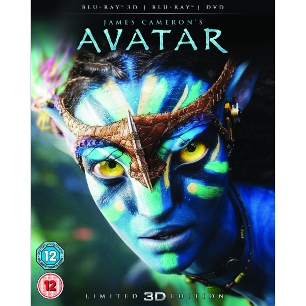 Avatar Collector's Edition Blu-ray 3D + Blu-ray + DVD