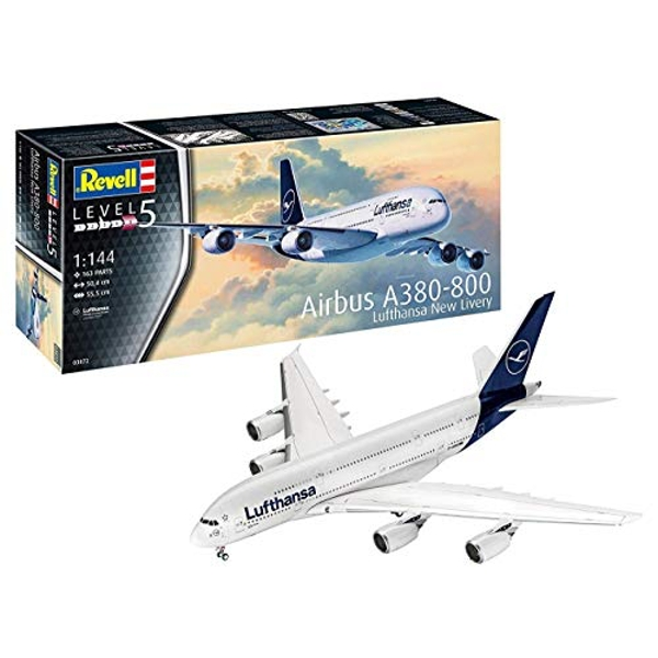 Airbus A380-800 Lufthansa New Livery Revell Model Kit