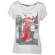 One Direction Take Me Home White Skinny TS: Small