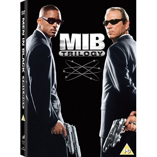 Men in Black 1-3 Trilogy DVD