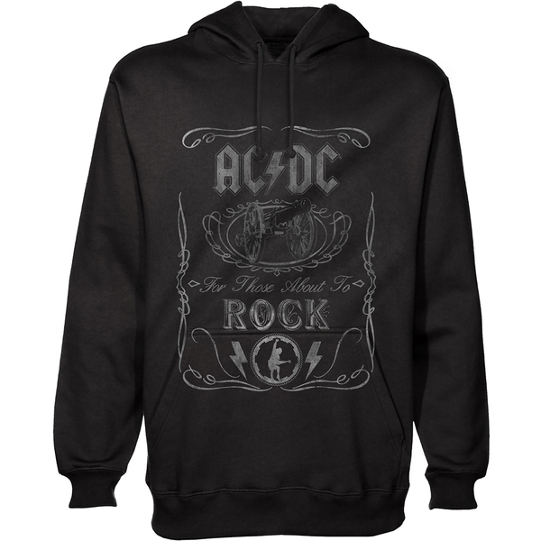 AC/DC - Cannon Swig Unisex X-Large Pullover Hoodie - Black