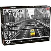 Yellow Cab 500 Piece Jigsaw Puzzle