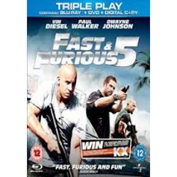 Fast And Furious 5 Triple Play Blu-ray & DVD