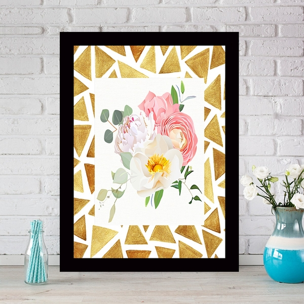 SCZ50838367623 Multicolor Decorative Framed MDF Painting