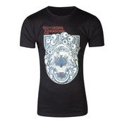 Hasbro - Dungeons & Dragons Iconic Print Men's Large T-Shirt - Black