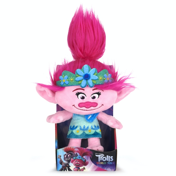 "Trolls 2 World Tour 10"" Poppy Soft Toy"