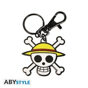 One Piece Skull Luffy Keychain