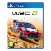WRC 6 PS4 Game