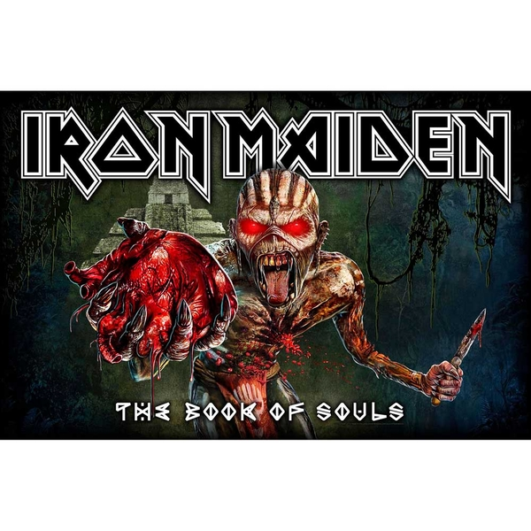 Iron Maiden - Book Of Souls Textile Poster