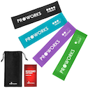 Proworks Resistance Band Set - Green / Light Purple / Blue / Black