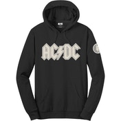 AC/DC - Logo & Angus Men's Small Pullover Hoodie - Black