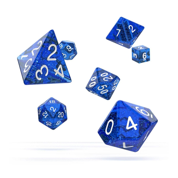 Oakie Doakie Dice RPG Set (Speckled Blue)