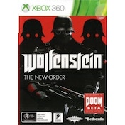 Wolfenstein The New Order Game Xbox 360 (Australian Version)