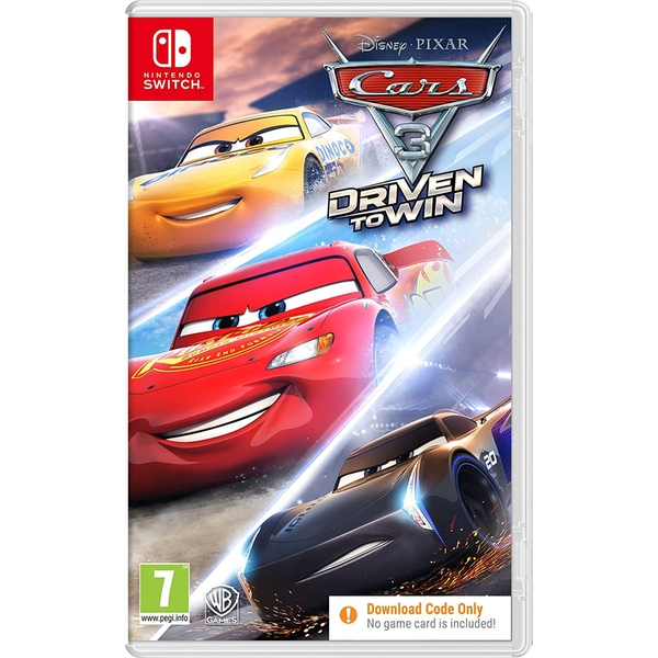 Cars 3 Driven to Win Nintendo Switch Game [Code in a Box]
