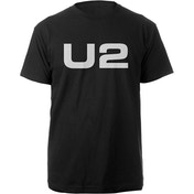 U2 - Logo Men's Small T-Shirt - Black
