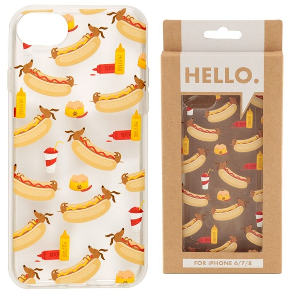 Hot Dog Fast Food Design iPhone 6/7/8 Phone Case