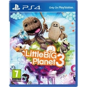 Little Big Planet 3 PS4 Game with Free Bloodborne Sackboy keyring