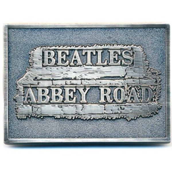 The Beatles - Abbey Road Sign Belt Buckle