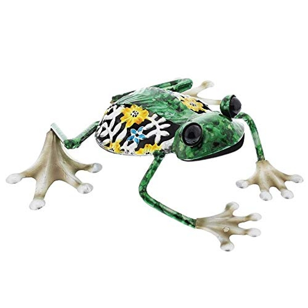 Country Living Hand Painted Metal Frog Ornament