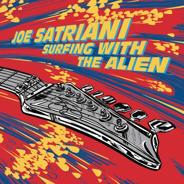 Joe Satriani - Surfing With The Alien Deluxe Edition Red Opaque/Yellow Opaque  Black Friday 2019 Vinyl