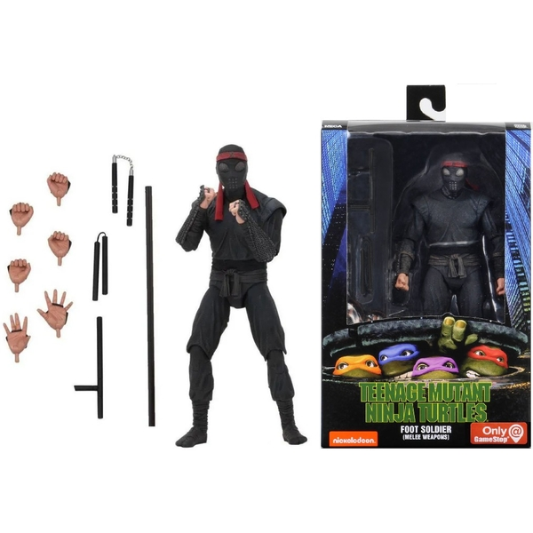 Foot Soldier with Melee Weaponry (TMNT 1990 Movie) 7 Inch Neca Action Figure