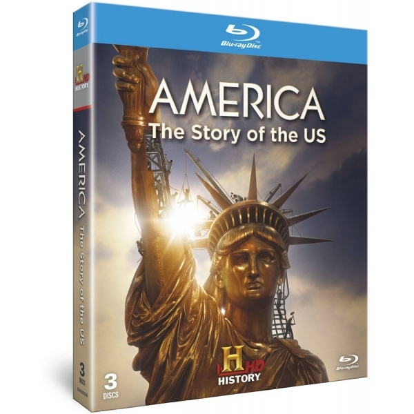 America: The Story Of The US Blu Ray