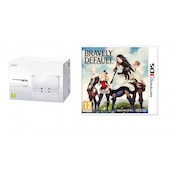 Nintendo Handheld Console in Ice White 3DS with Bravely Default
