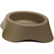 Rosewood Nuvola Plastic Dog Bowl 300ml 11cm/4.5inch BROWN