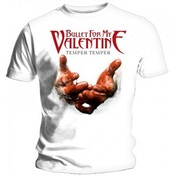 Bullet For My Valentine Men's Medium T-Shirt - White
