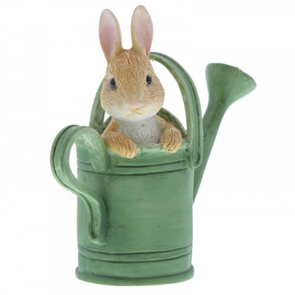 Peter Rabbit in Watering Can Mini Figurine