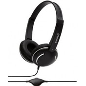 Groov-e GV897/BK Kids DJ Style Streetz Headphones with Volume Control - Black