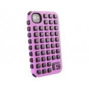 G-FORM iPhone 4 / 4S Extreme Grid Case, Pink Case/Black