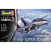 Grumman F-14D Super Tomcat 1:72 Revell Model Kit