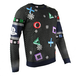 Playstation - Controller Symbols Unisex Christmas Jumpers Small - Image 2