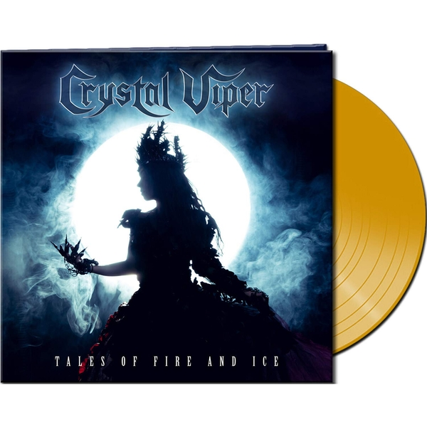 Crystal Viper - Tales Of Fire And Ice Clear Yellow  Vinyl