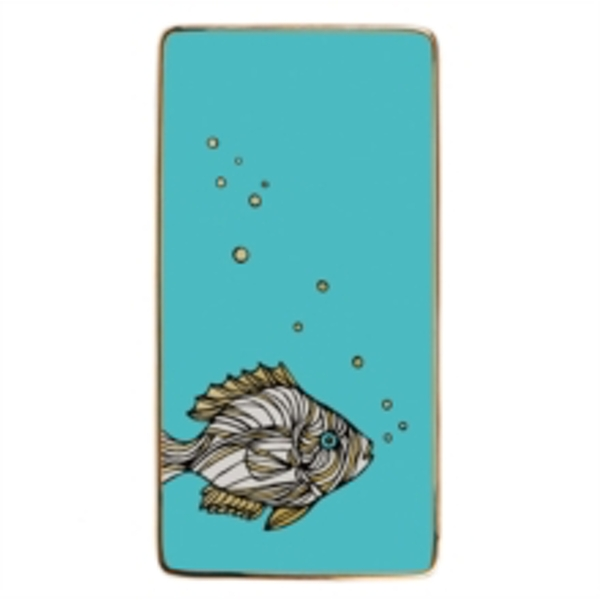 Patch NYC Fish Rectangle Porcelain Tray