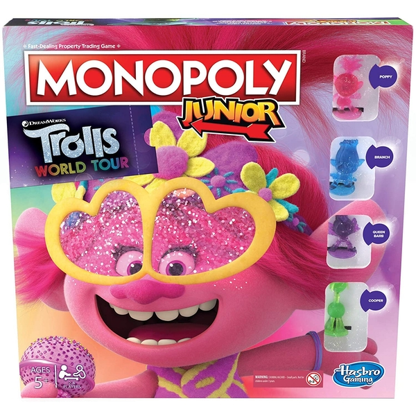 Trolls World Tour Monopoly Junior Board Game