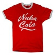 FALLOUT Men's Nuka Cola Logo T-Shirt, Large, Red