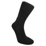 Bridgedale Woolfusion Men's Trail Sock, Black - Medium
