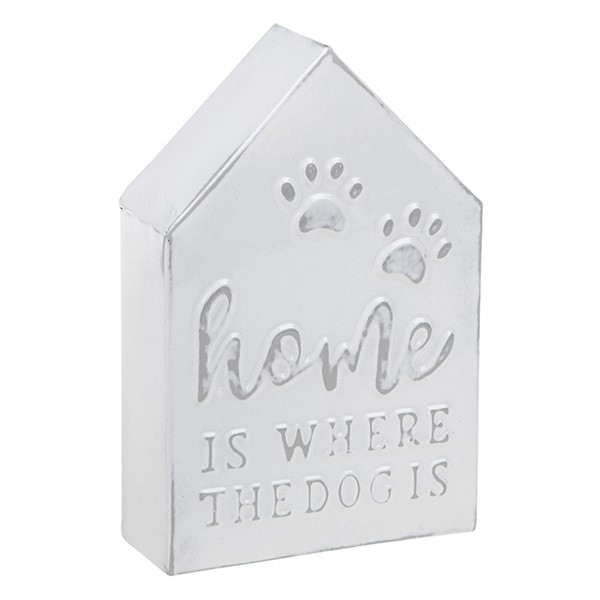 Homestyle Standing Metal House Dog