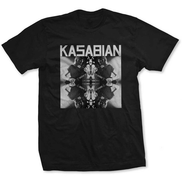 Kasabian - Solo Reflect Men's X-Large T-Shirt - Black