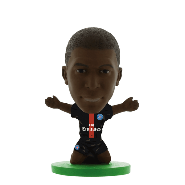 SoccerStarz Kylian Mbappe Paris St Germain Home Kit 2020 Figure