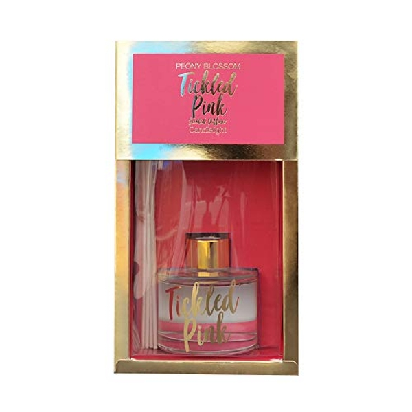 Tickled Pink Reed Diffuser In Gift Box - Peony & Tangerine Blossom