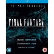 Final Fantasy Triple Feature  - The Spirits Within / VII Advent Children / XV - Kingsglaive Blu-Ray