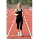 Precision 3/4 Length Capri Tights Black 22-24 inch